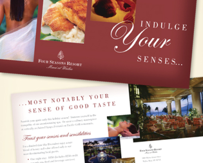 Four Seasons Maui Mailer
