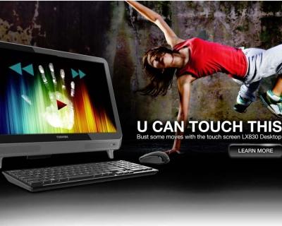 Toshiba Web Slider